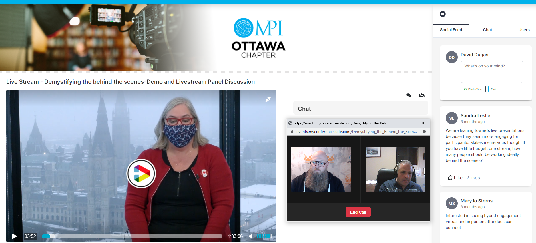 1-1 Video Chat and Private Chat Features added in myConferenceSuite's Virtual Portal